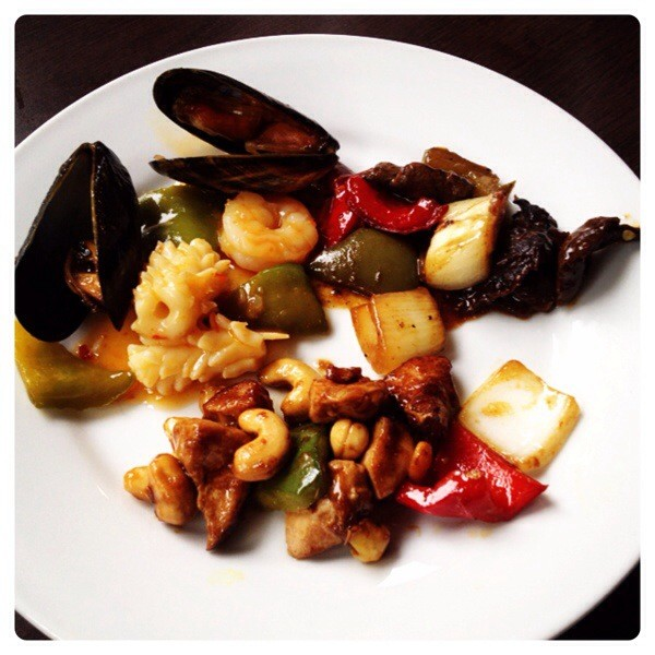 Thai and Chinese dishes at Kitchin N1