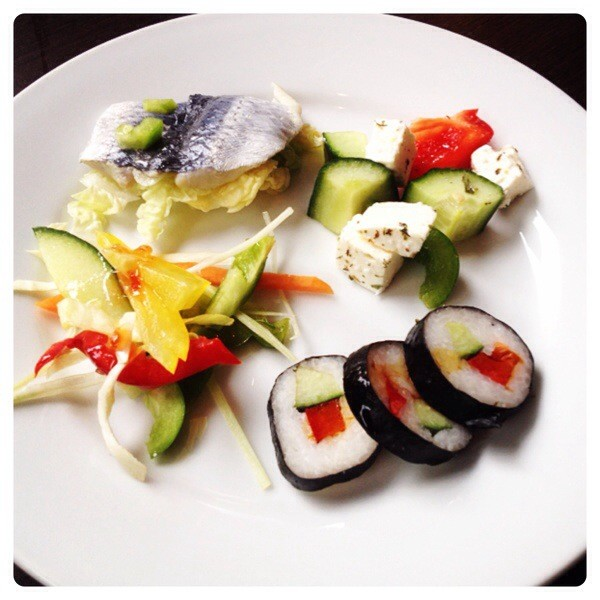Salads and Sushi at Kitchin N1