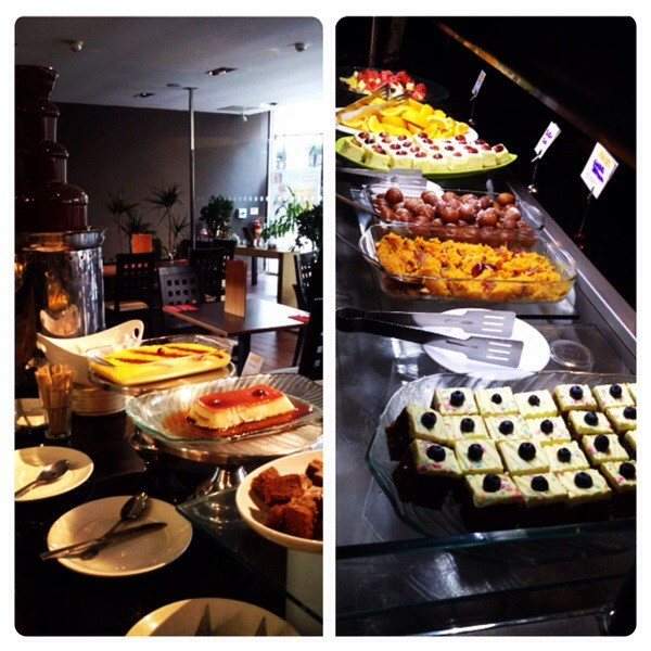 Dessert Station at Kitchin N1