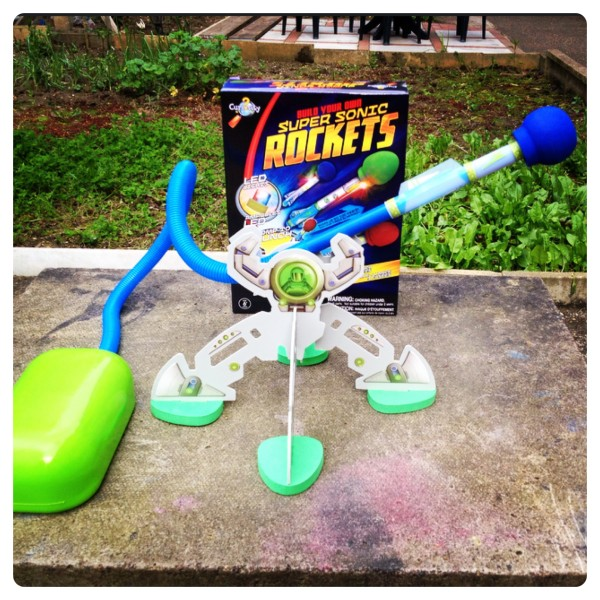 Make Your Own Super Sonic Rocket Kit by the Orb Factory