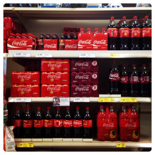 Coca-Cola 4 x 1.5l Promotional Packs at Tesco