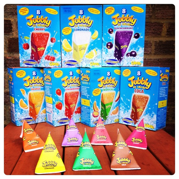 Jubbly Ice Lollies