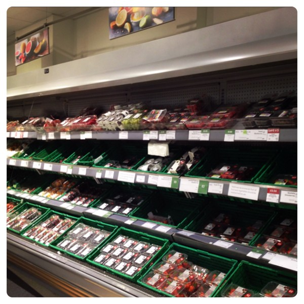 Fruit and Vegetables at our local Waitrose