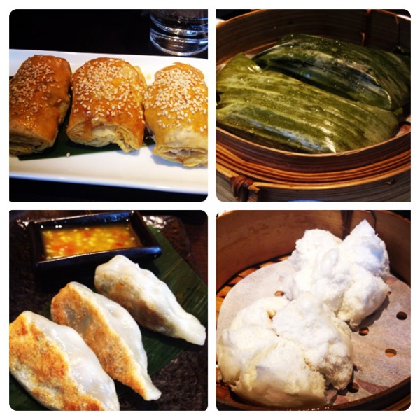 Baked, Sticky Rice and Chinese Buns