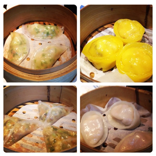 Steamed Dim Sum at Ping Pong
