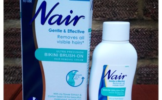 Bikini Season Essential: Nair Bikini Brush-on