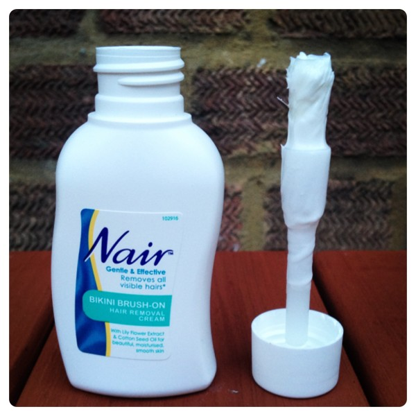 Nair Bikini Brush-on Hair Removal Cream