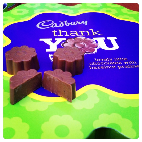 Cadbury Thank You Chocolate
