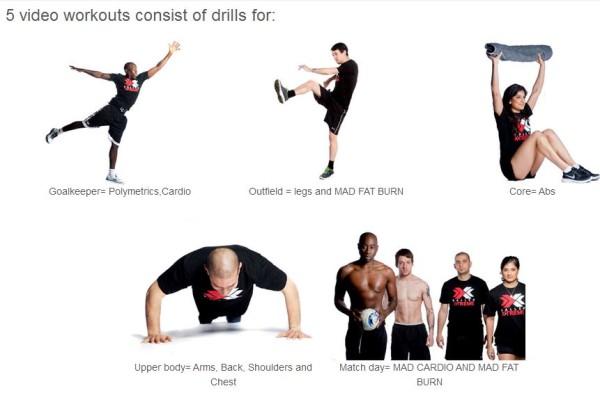 Baller Xtreme App Workout Videos