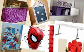 Spiderman Bedroom Makeover