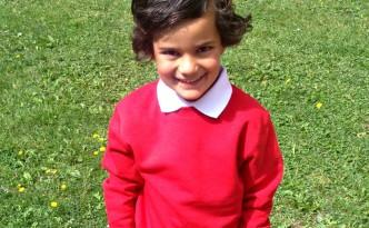 TU School Uniform: Red Sweatshirt