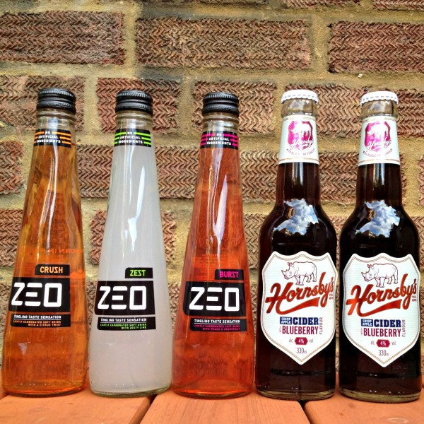 Zeo Drinks and Hornsby's