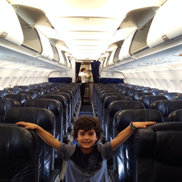Flying: Fun Starts When You Get on Airplane