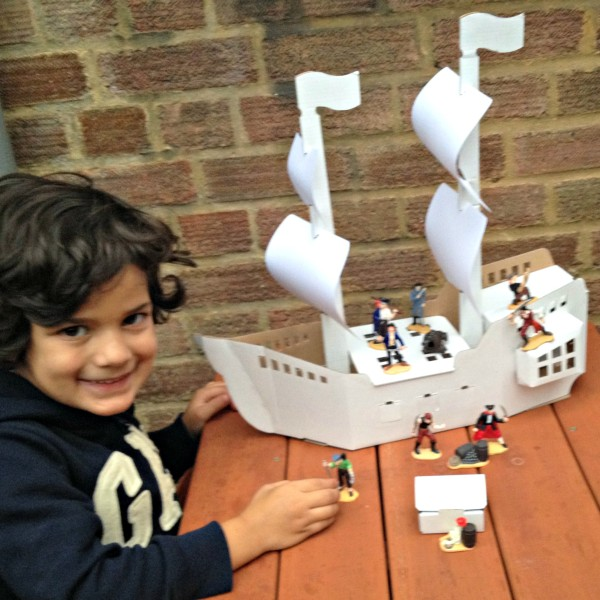 Calafant Pirate Ship Model