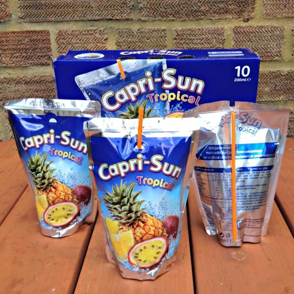Capri-Sun Fun and Convenient Pouches