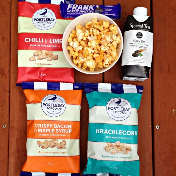 Portleybay Popcorn, Special Tea and Frank Bar
