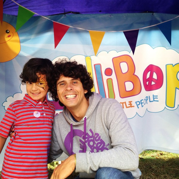 Meeting Andy Day at LolliBop