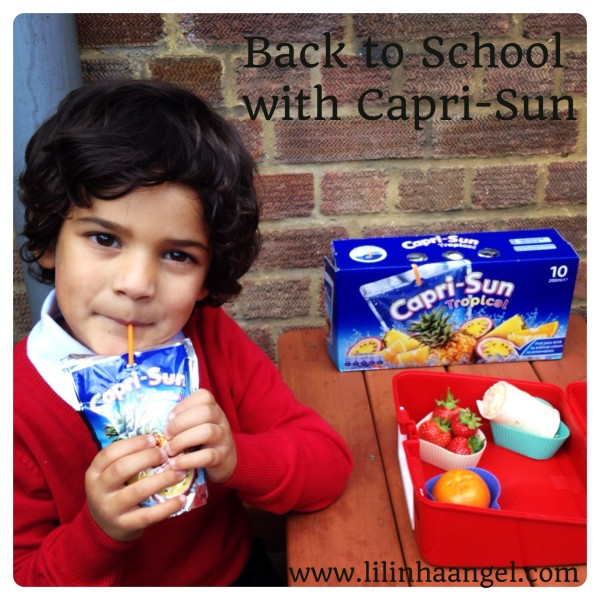 Healthy Lunchboxes with Capri-Sun