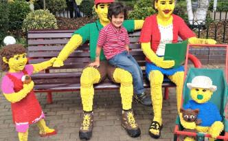 Lego Family at Legoland