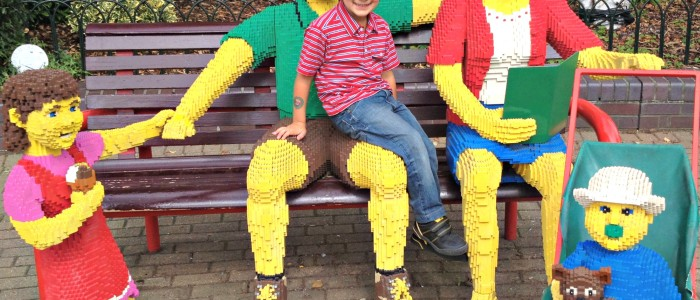 Lego Family at Legoland