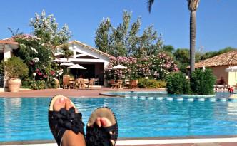 Relaxing in Sardinia