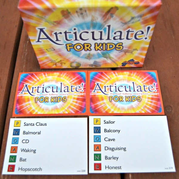 Articulate for Kids Cards