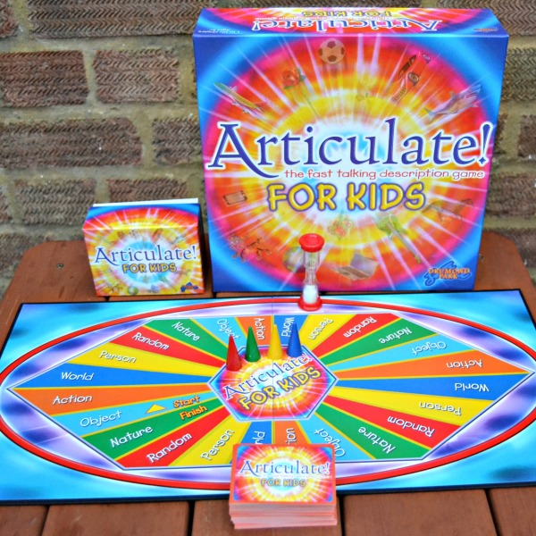Articulate for Kids: The Fast Talking Drescription Game