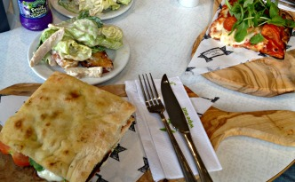Family Lunch at Caffe Massarela in Persons Department Store in Enfield