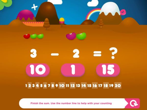 Nick Jr Leap: Numbers World