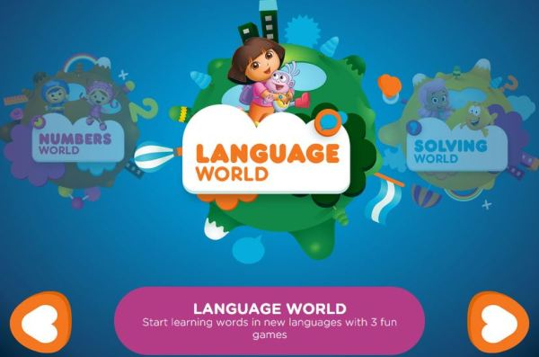 Nick Jr Leap: Language World