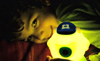 Relaxing in the Den with Philips Disney SoftPal