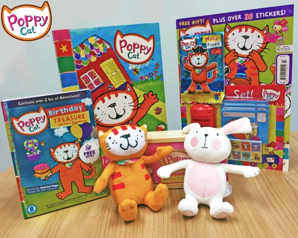 Poppy Cat Competition Prize
