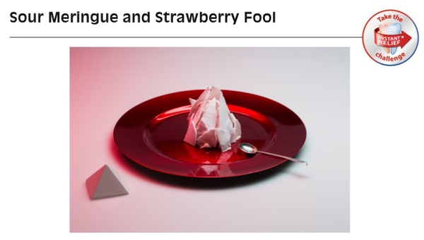 Sour Meringue and Strawberry Fool