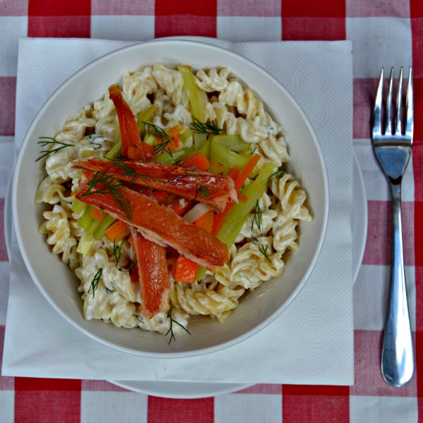 Creamy Pasta Dish with Smoked Trout
