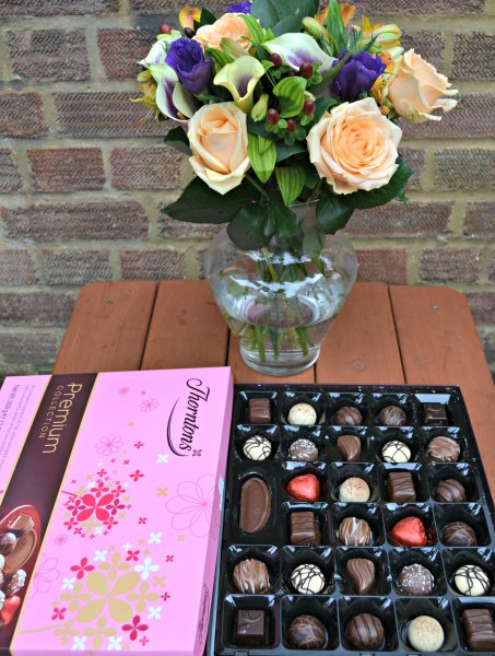 Chocolate Week: Thorntons Premium Collection and Blueberry Muffin Bouquet