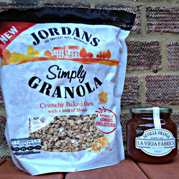 Degustabox: Jordans Simply Granola and La Vieja Fabrica Marmalade