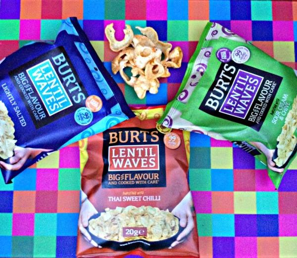 Degustabox: Burts Lentil Waves