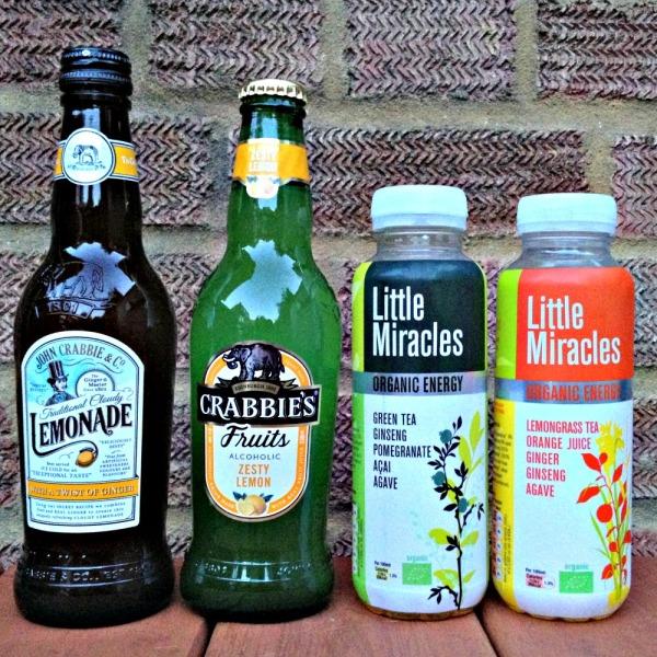 Degustabox: Crabbie's Lemonade, Zesty Lemon, Little Miracles