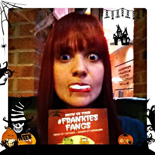 Hallowen Fun at Frankie & Benny's #FrankiesFangs