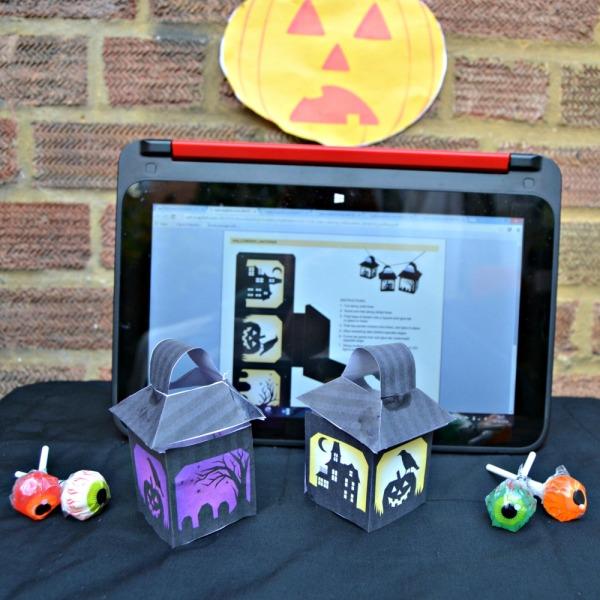 Halloween Decorations: Spooky Lanterns and Jack-O'-Lantern
