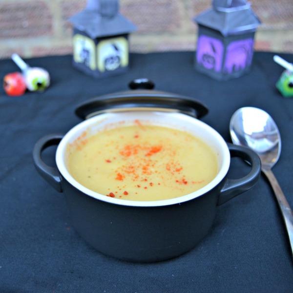 Spooky Pumpkin and Apple Soup Recipe