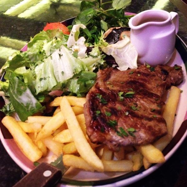 Sirloin Steak & Chips