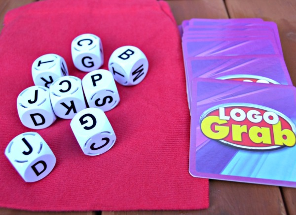 LOGO Grab Lettered Dice