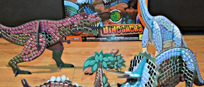 Sticky Mosaics 3D Dinosaurs