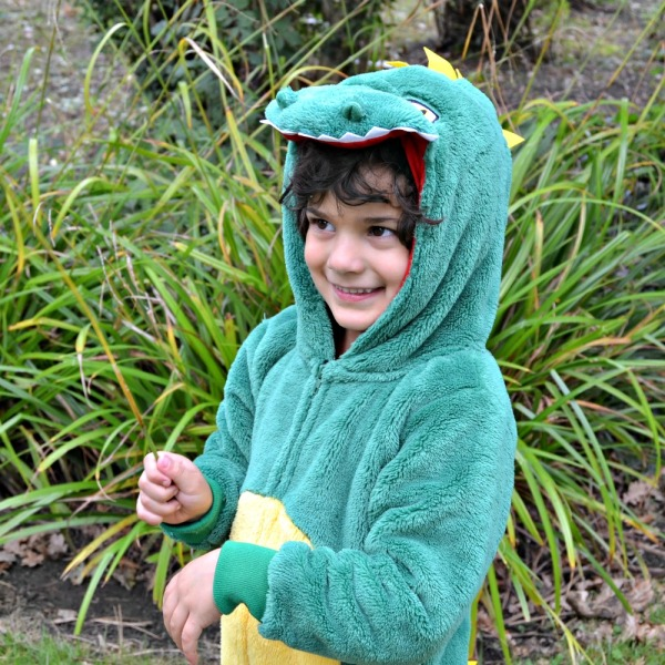 Kids Dinosaur Onesie by Yellow Mellon