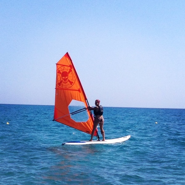 Wind Surfing in Sardinia