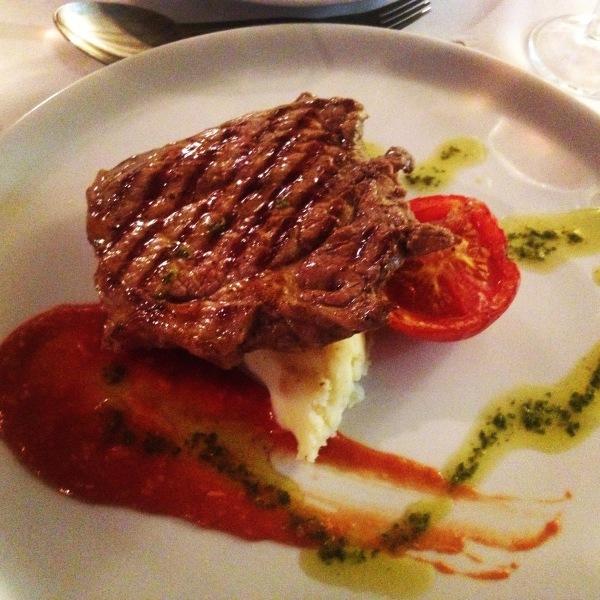 Dinner in Sardinia