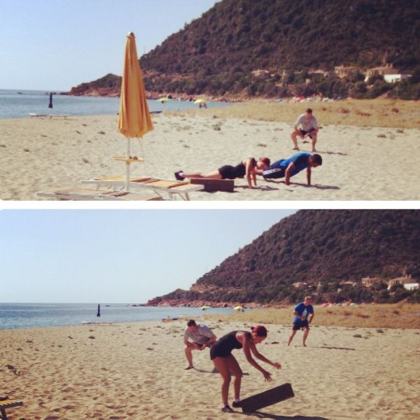 Boot Camp in Sardinia