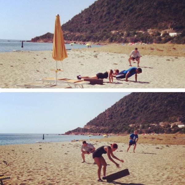Boot Camp in Sardinia