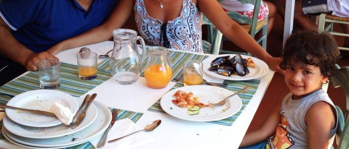 Deliciously Fresh Meals in Sardinia